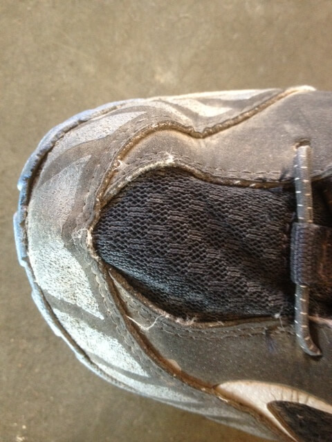 Gore-Tex mesh close up.