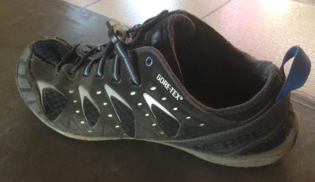 shoe with goretex