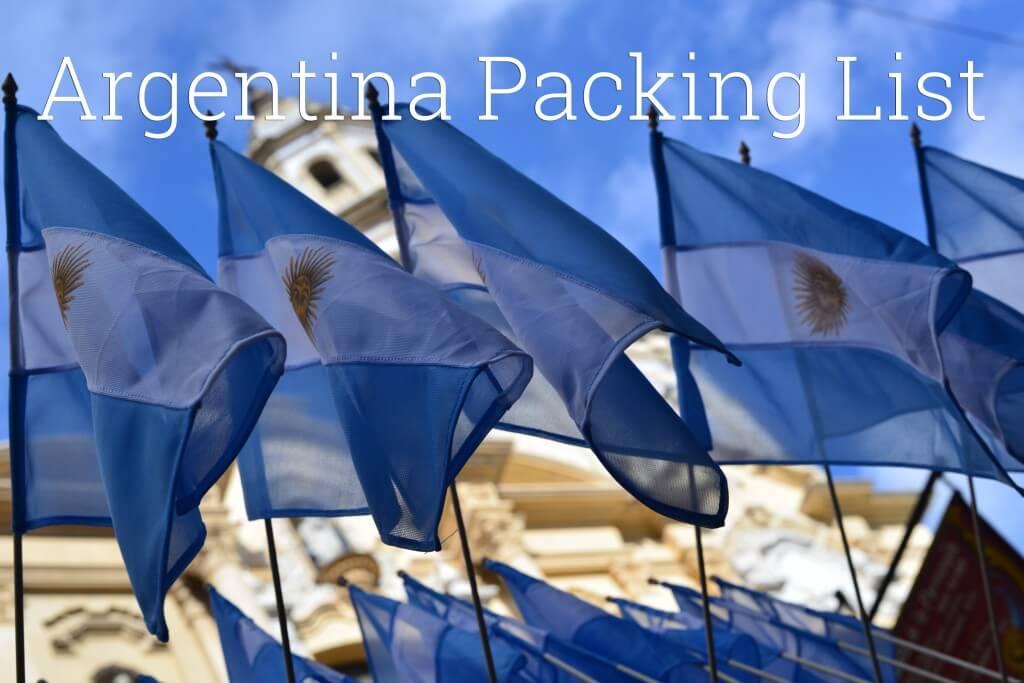 argentinapackinglist
