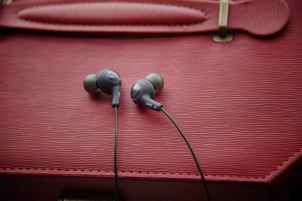 JVC Gumy in-ear headphones