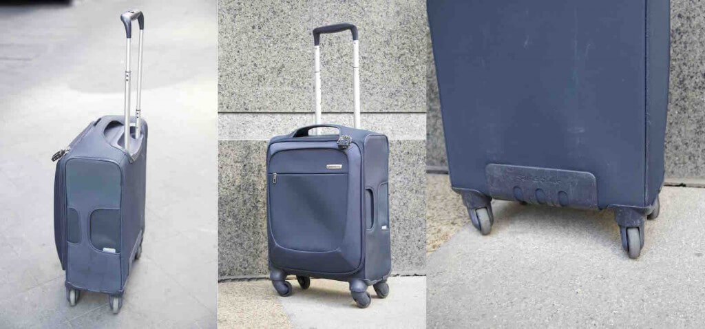 Samsonite B'Lite Spinner Review: Lightweight and business travel ...