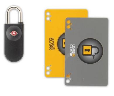 lewis n. clark card lock