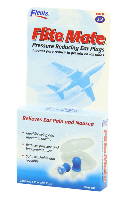 Pressure Reducing Ear Plugs