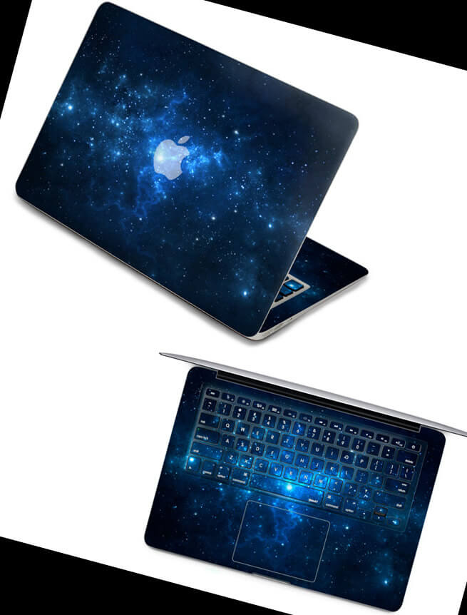 galaxy macbook air and pro decal
