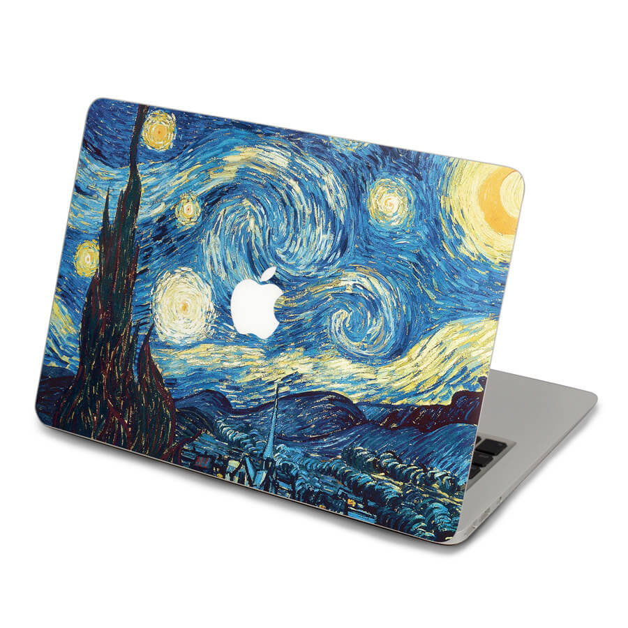 starry night macbook decal