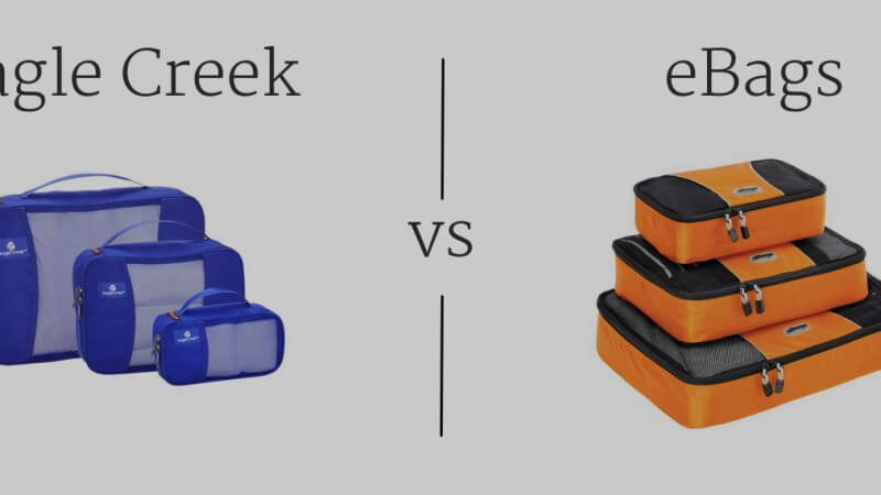 Eagle Creek vs eBags Packing Cubes