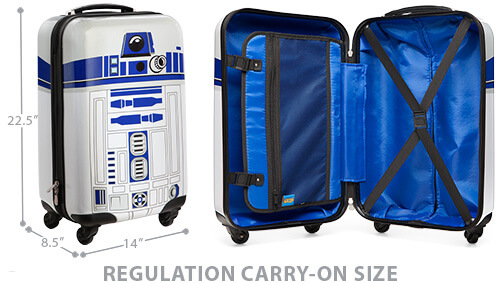 Get The Luggage Here On Amazon.com.