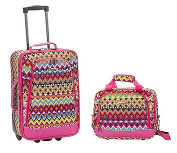 rockland luggage tribal