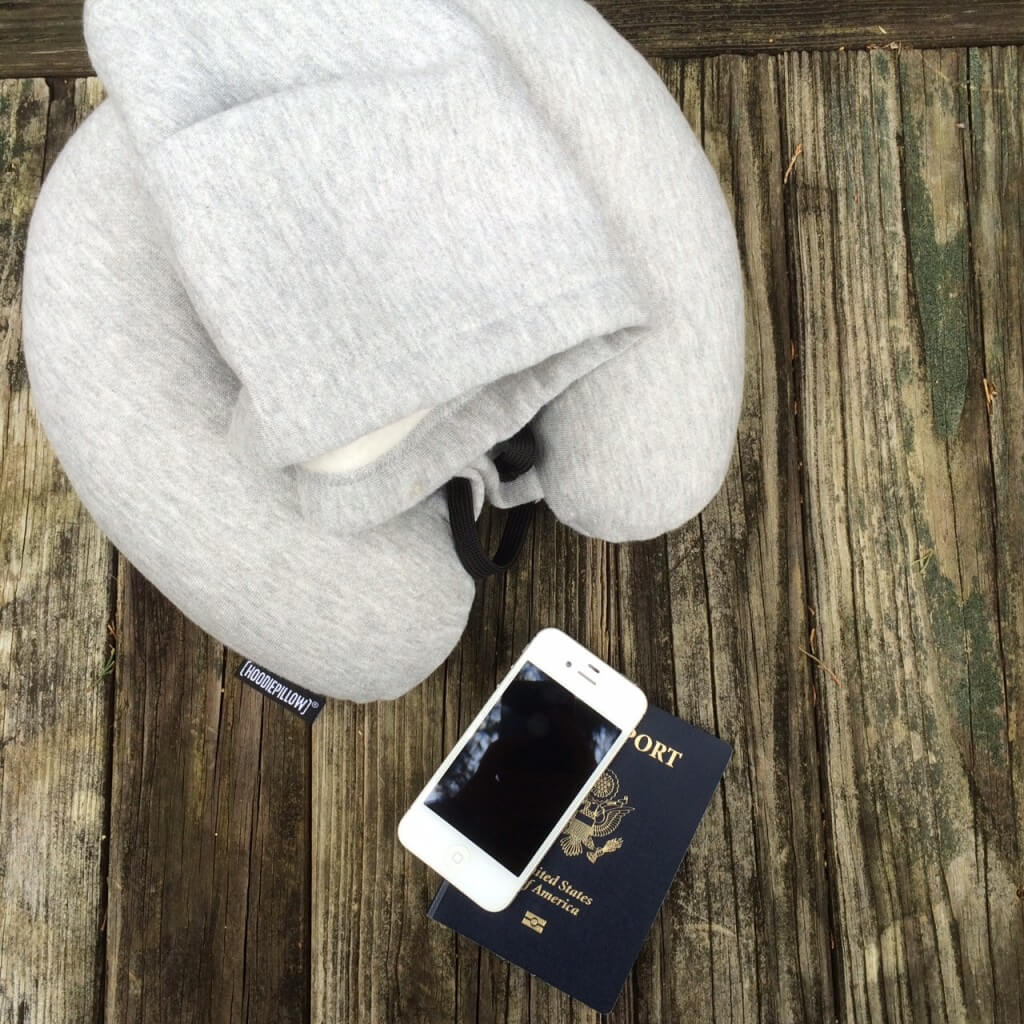 hoodiepillow travel