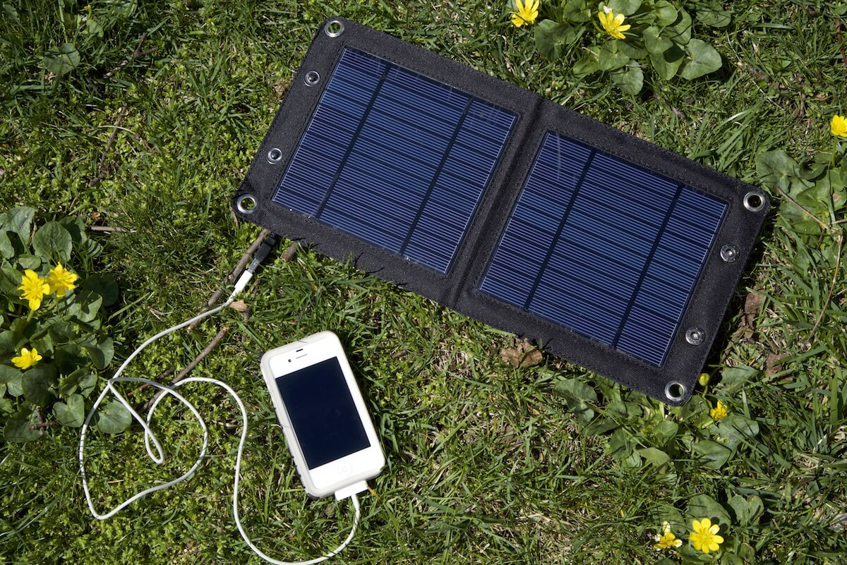 solar panel for adventure travelers easyacc solar panel. Black Bedroom Furniture Sets. Home Design Ideas