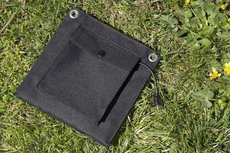 EasyAcc solar panel folded