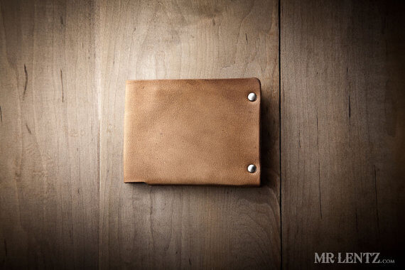Minimalist Leather Wallet for teen guys