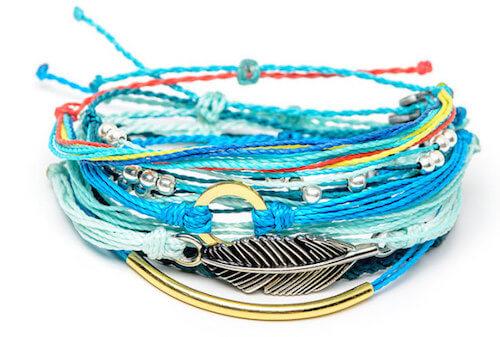Pura Vida Bracelets Seafoam Pack