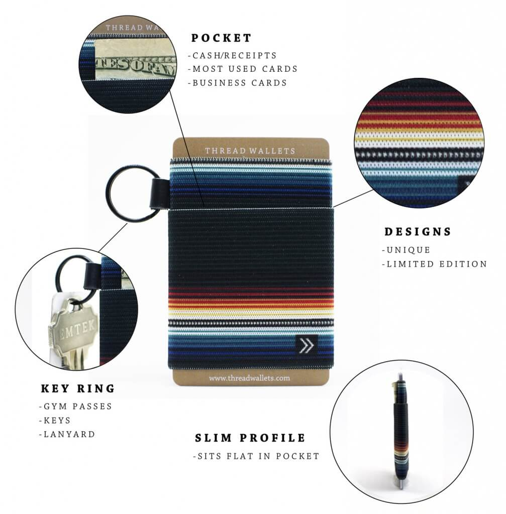 Thread Wallet 2.0, perfect for any teen guy