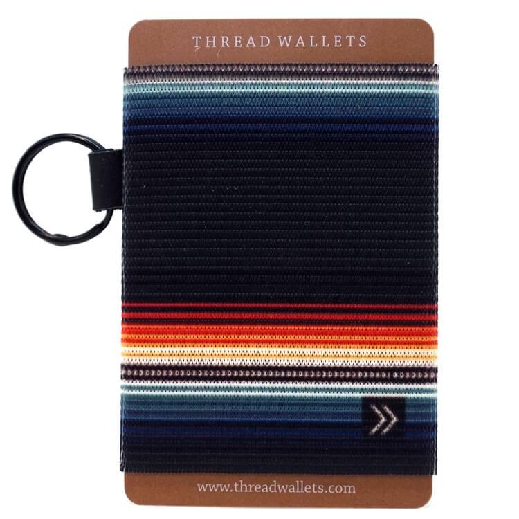 Thread Wallet Midnight Saddle