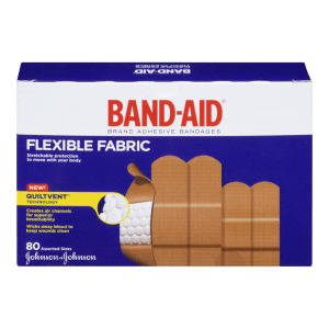 The Skindels material is similar to that of fabric Band-Aids