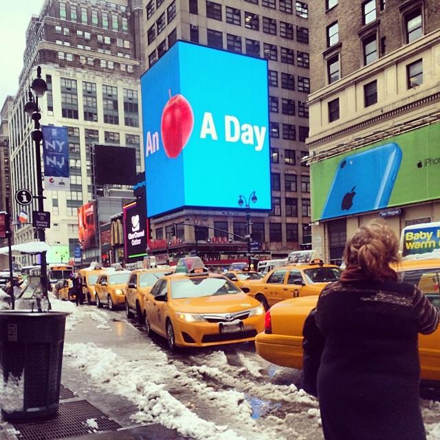 Slush in New York City | Photo Credit: Bethany Looi