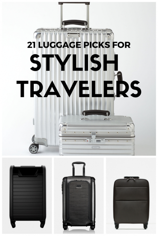 Luggage for stylish travelers