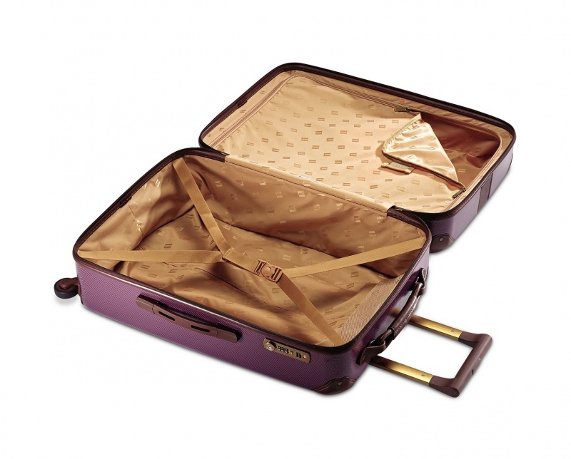 Hartmann Herringbone Luxe Hardside Carry On Spinner