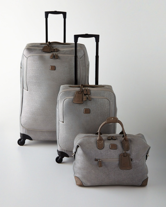 Bric's Life Luggage in grey