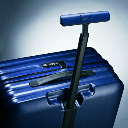 The Samsonite Inova also comes in Indigo