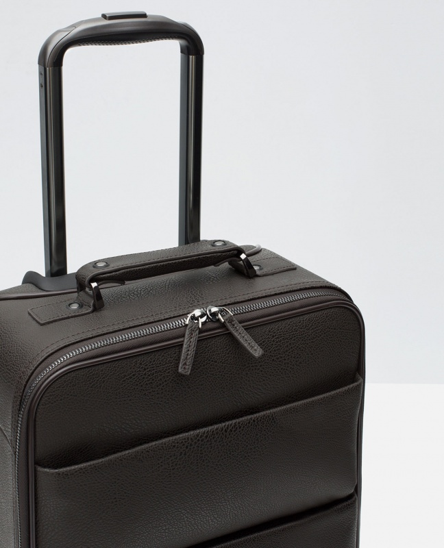 Zara Embossed Hand Luggage