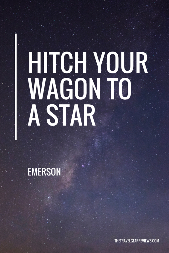 Hitch your wagon to a star - Emerson