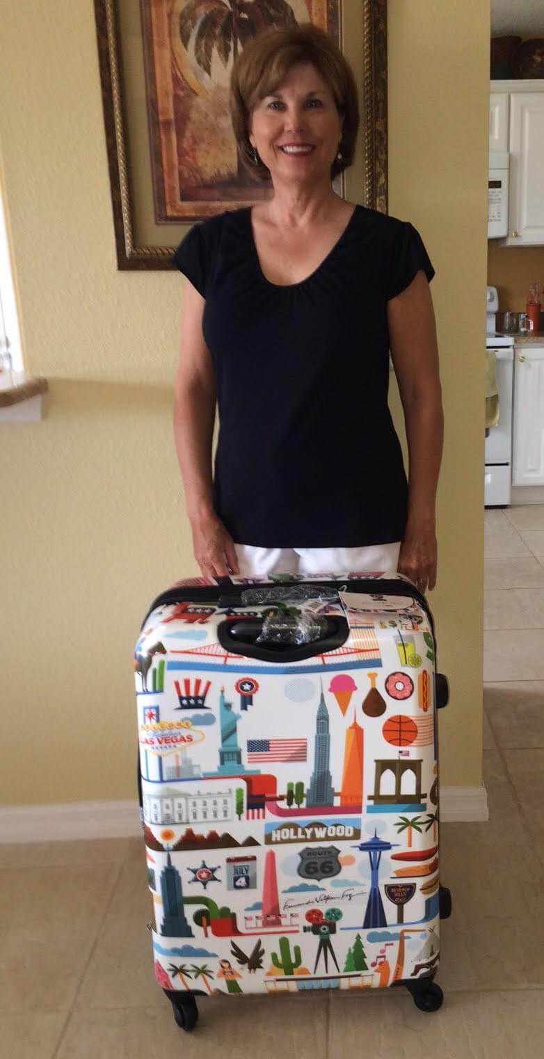 The Heys Luggage Giveaway Winner!