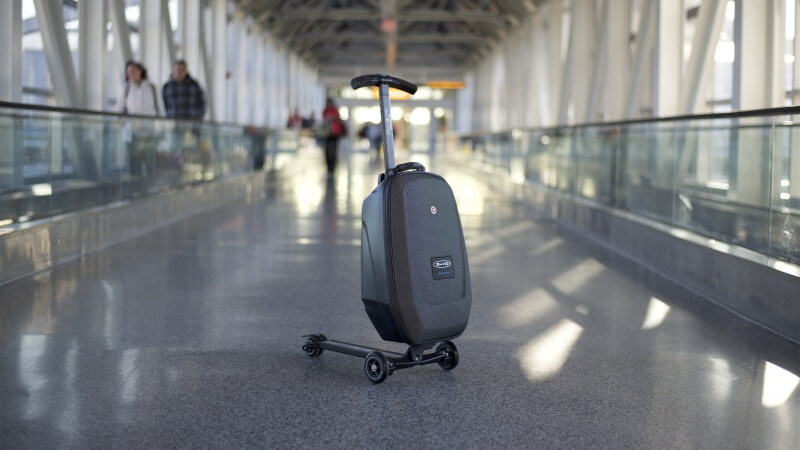 Micro Luggage Review: Scooter Luggage
