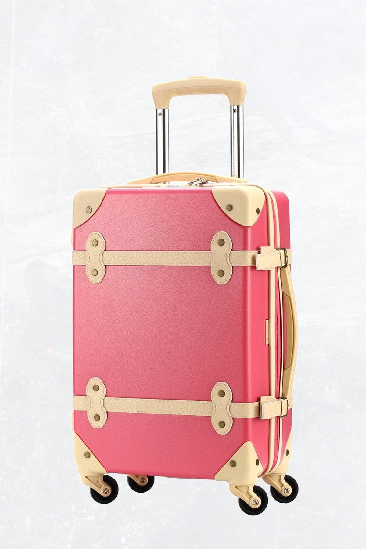 Ambassador Luggage Antique, pink luggage