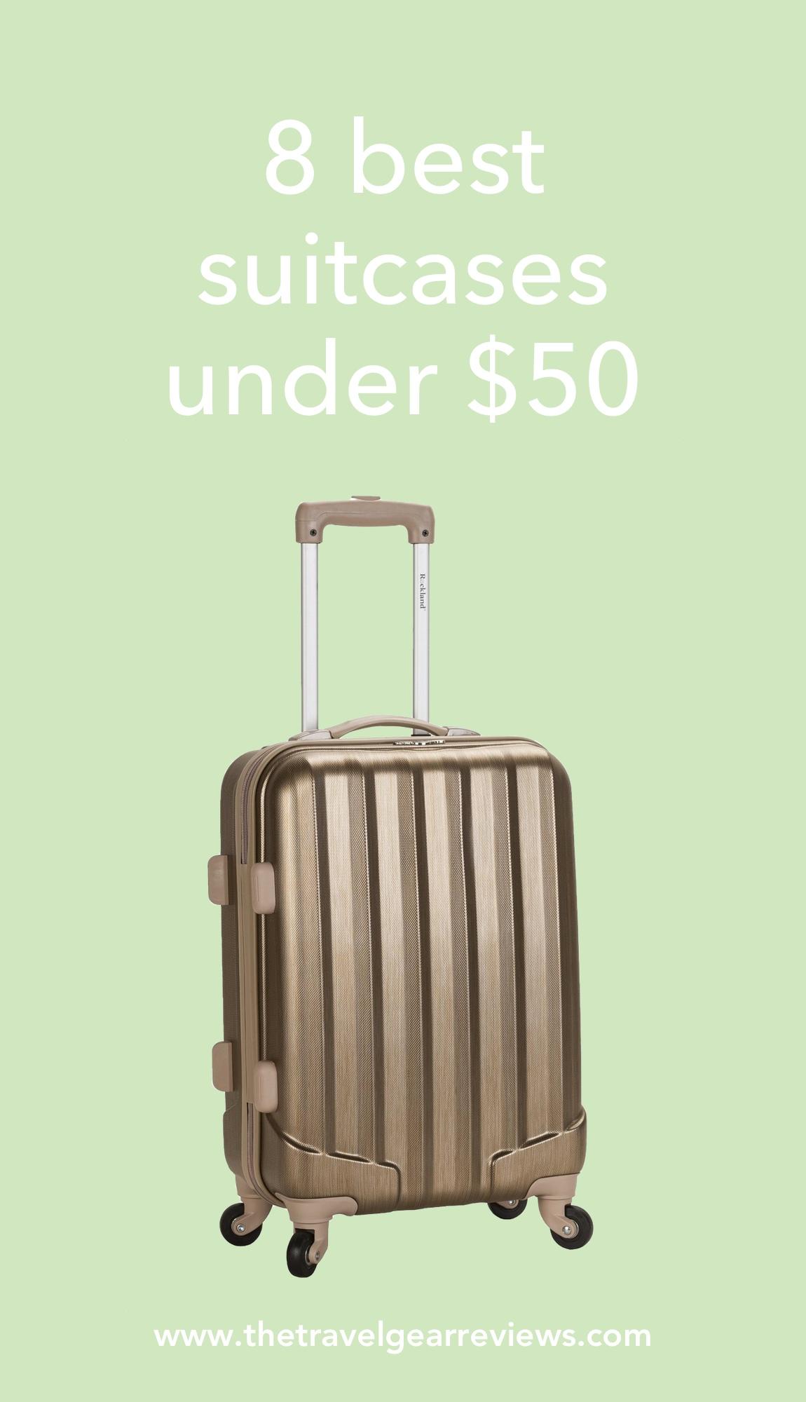 8 best suitcases under $50