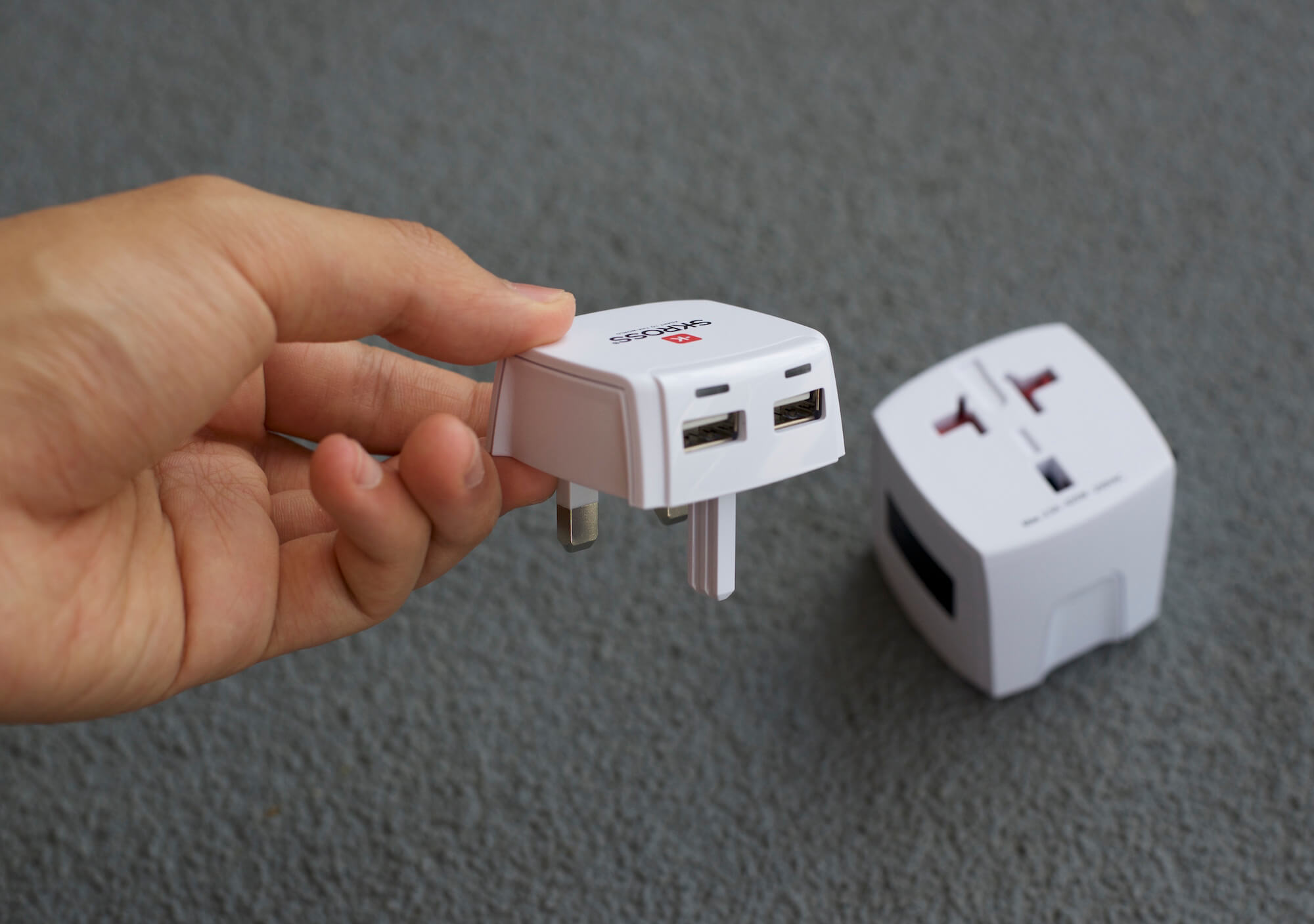 USB charging port add-on