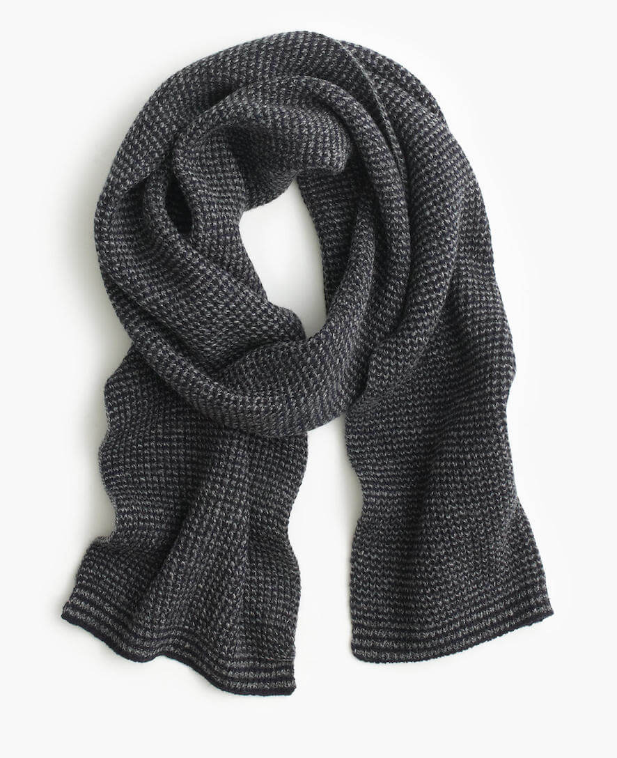 J.Crew Lambswool Scarf best scarves for men