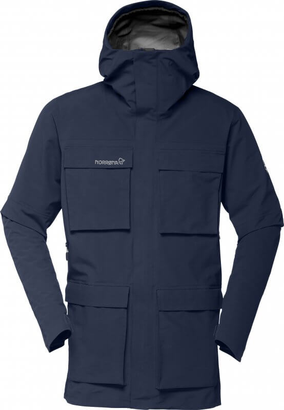 Norrøna svalbard Gore-Tex Jacket, technical but with a casual vibe