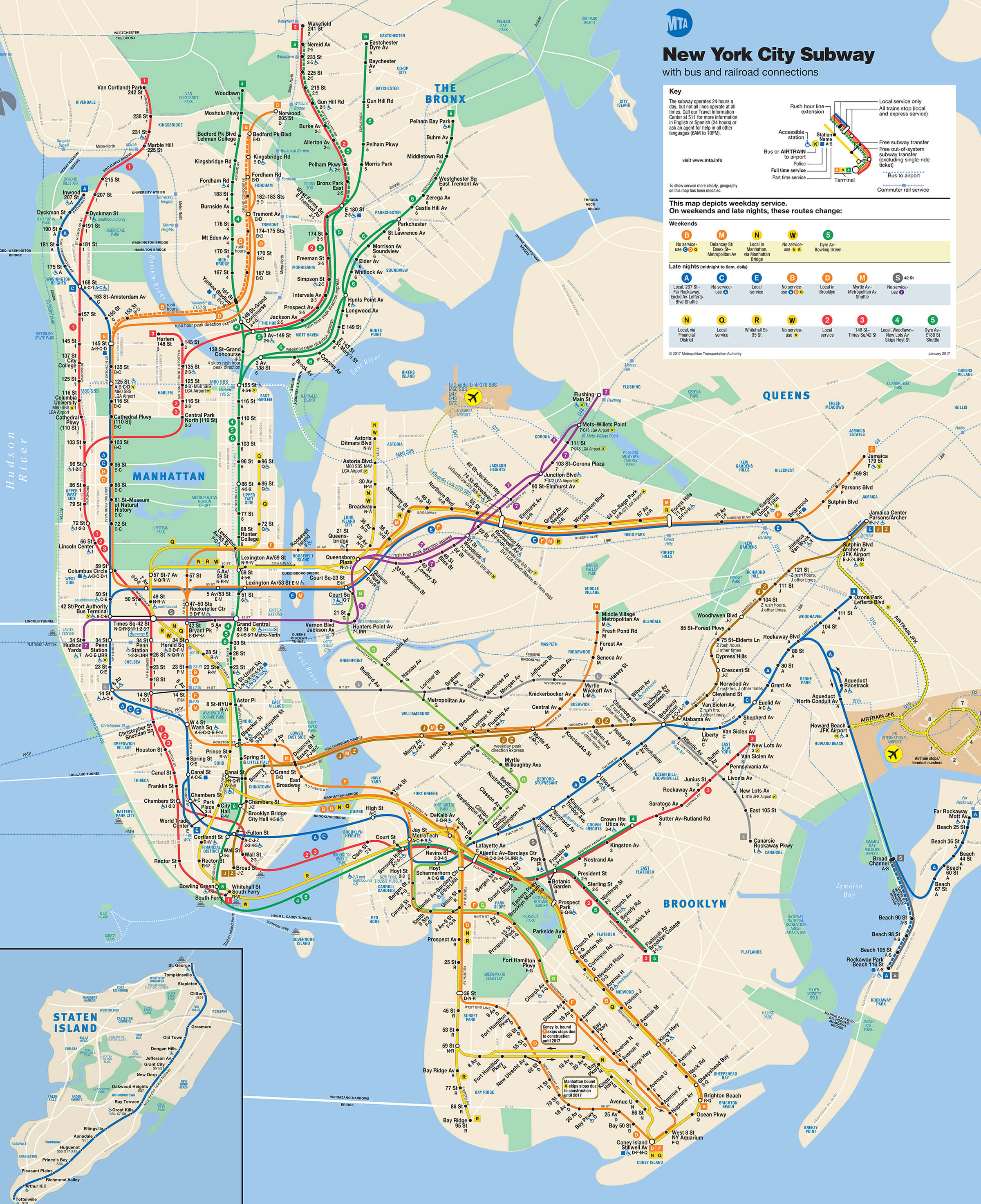 NYC Subway Map - The Ultimate New York City Subway Guide