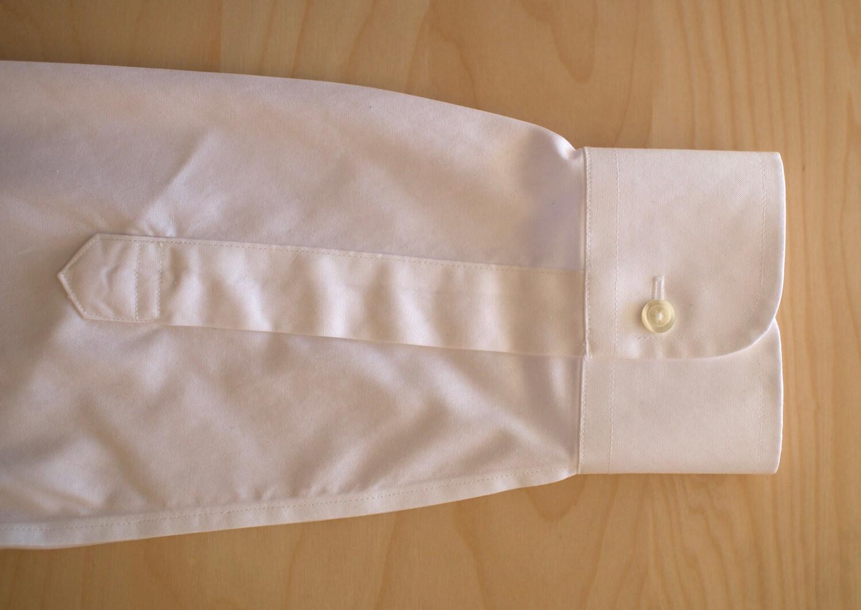 Brooks Brothers cuffs