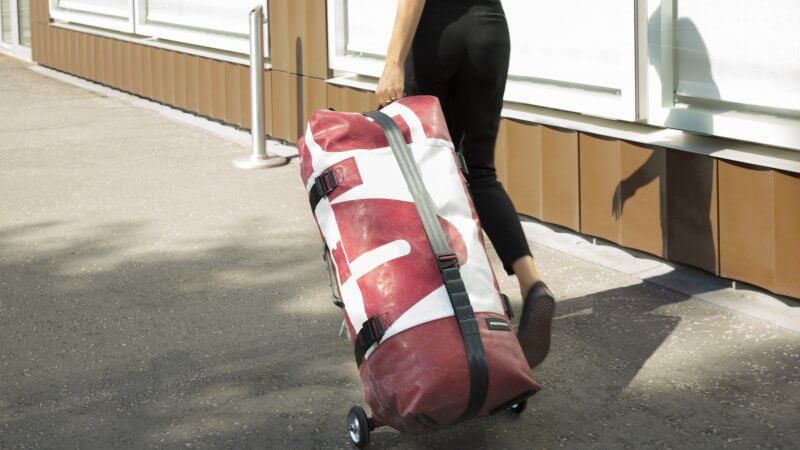 Inflatable Luggage: Interview with Nicola Stäubli, FREITAG ZIPPELIN designer