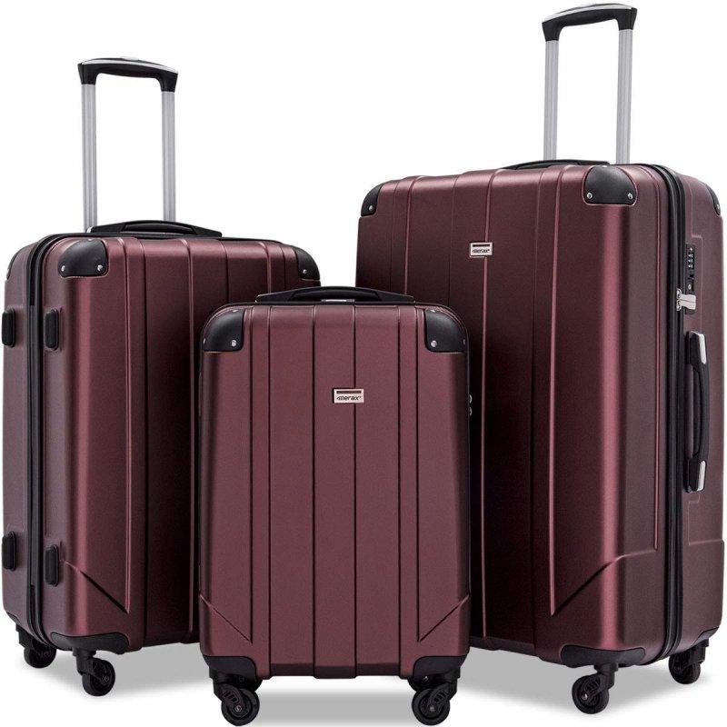 eco friendly luggage set from merax