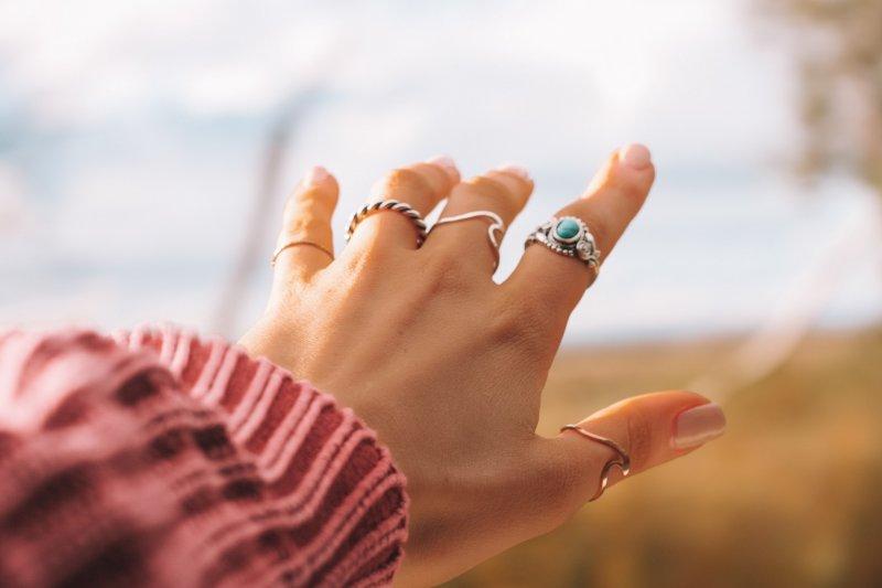 travel inspired rings