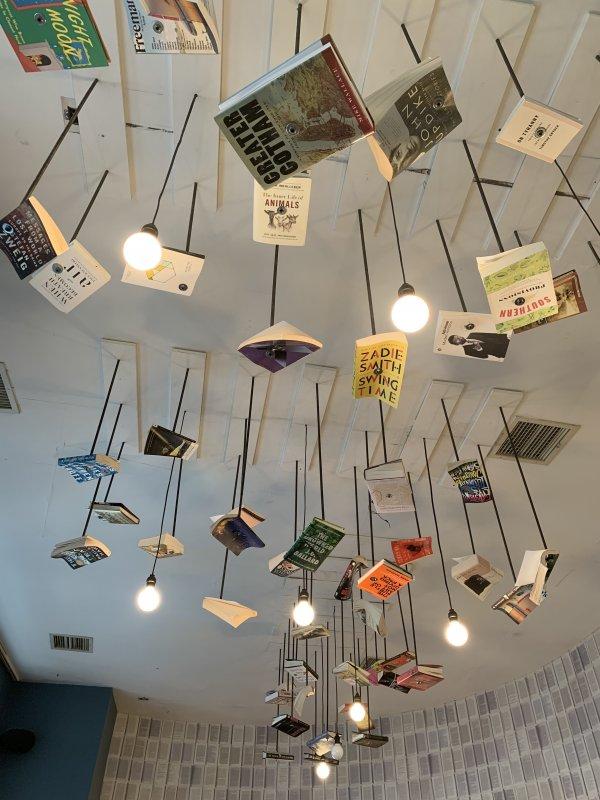 McNally Jackson Books Cafe decor nyc