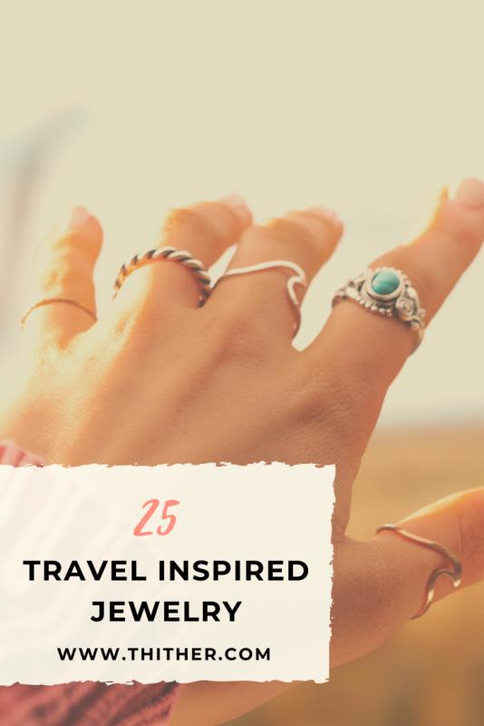 Travel Inspired Jewelry