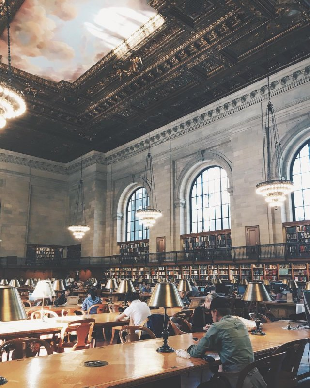 new york public library rose reading room nyc