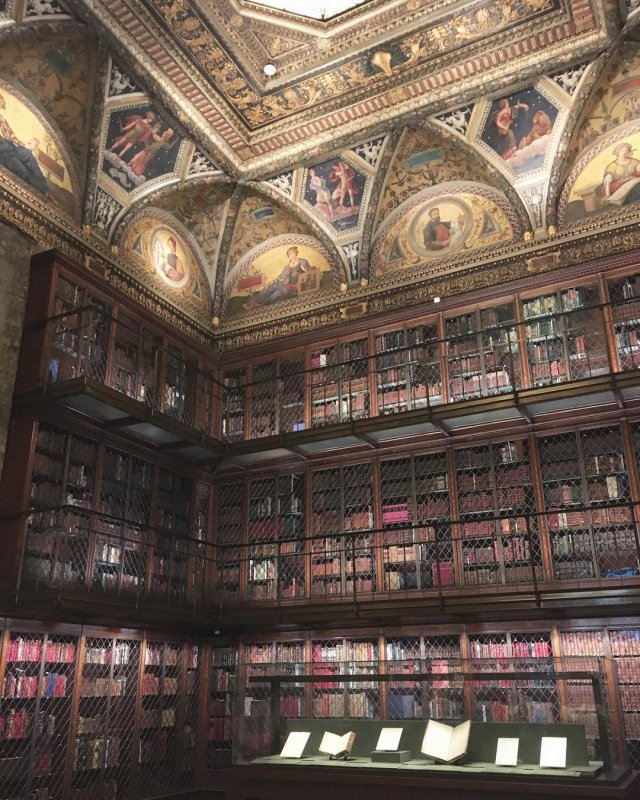 the morgan library and museum nyc