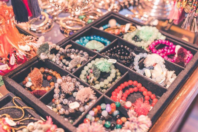 travel inspired bracelets